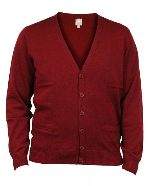 MAERZ Strick - Cardigan - bordeaux