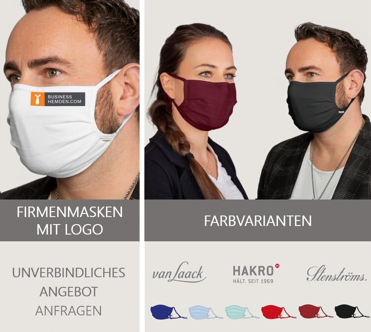 Mundschutzmasken deutscher Modemarken