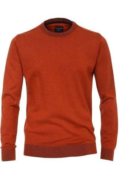 Casa Moda Strick - Rundhals - orange