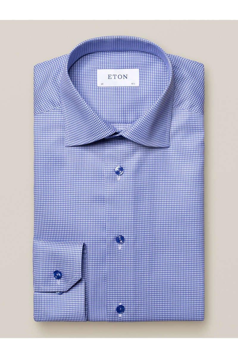 ETON Contemporary Fit Hemd blau, Kariert 40 - M