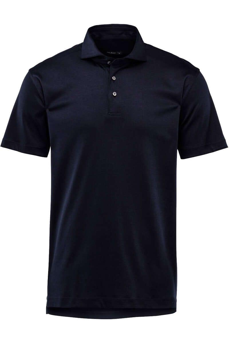 van Laack Tailor Fit Poloshirt navy, Einfarbig M