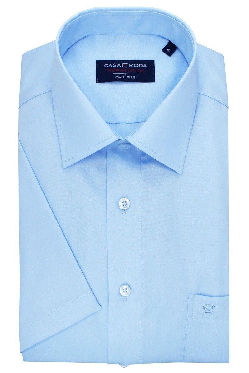 Casa Moda Hemd - Modern Fit - hellblau, Einfarbig