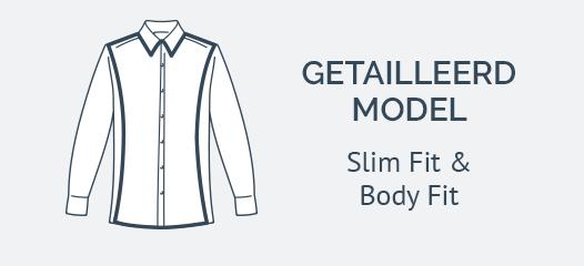 Jersey Overhemden Slim Fit
