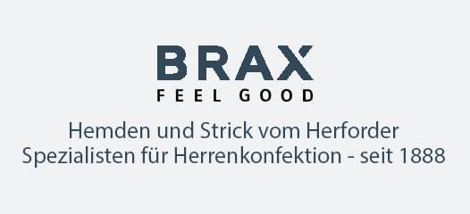 BRAX Langarm Poloshirts Herren