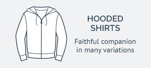 HAKRO hoodie shirt