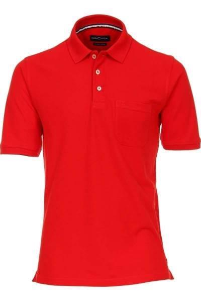 Casa Moda Poloshirt rot, Einfarbig