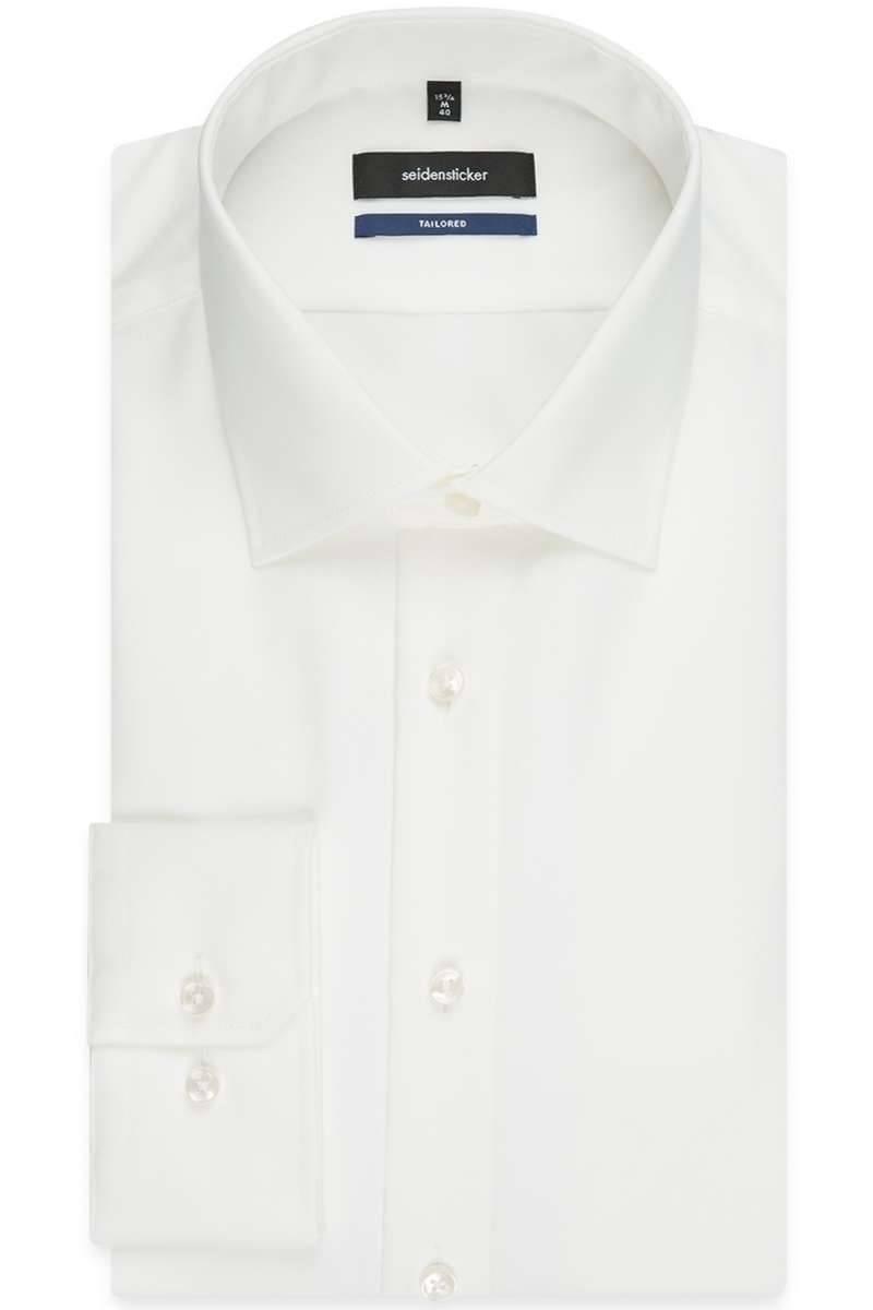 Seidensticker Hemd - Tailored - beige, Einfarbig