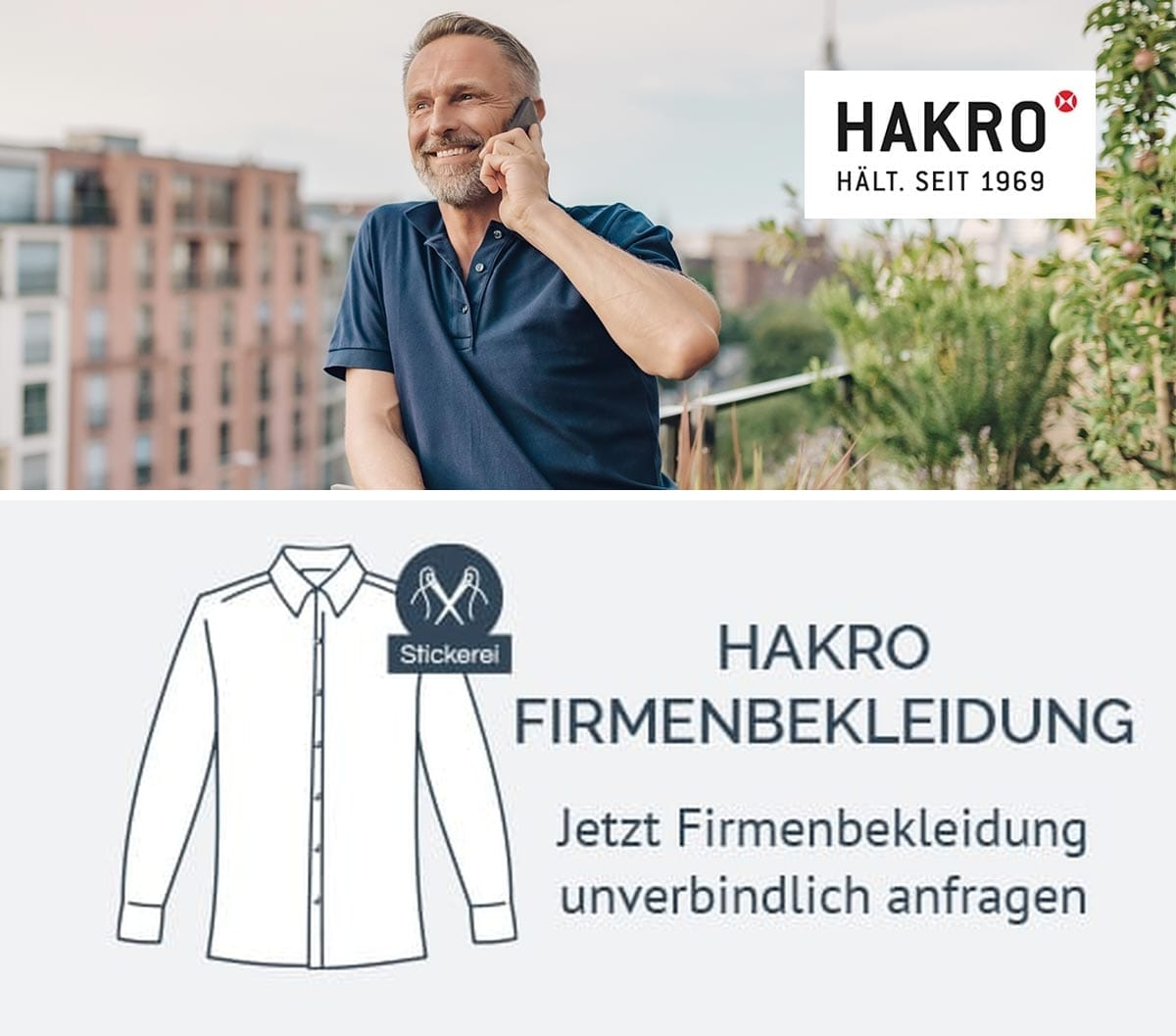 HAKRO 806 Firmenbekleidung anfragen