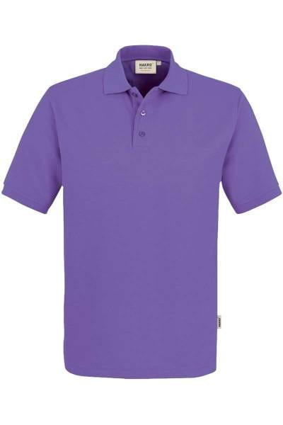 HAKRO Comfort Fit Poloshirt lavendel, Einfarbig