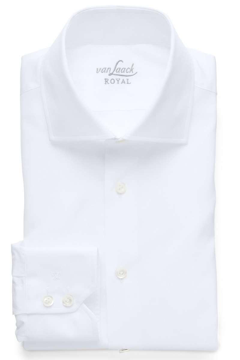 van Laack Hemd - Tailor Fit - weiss, Einfarbig 43 - XL
