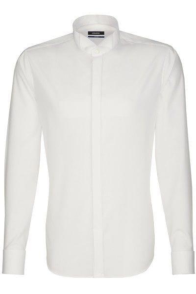 Seidensticker Hemd - Schwarze Rose - ecru, Einfarbig
