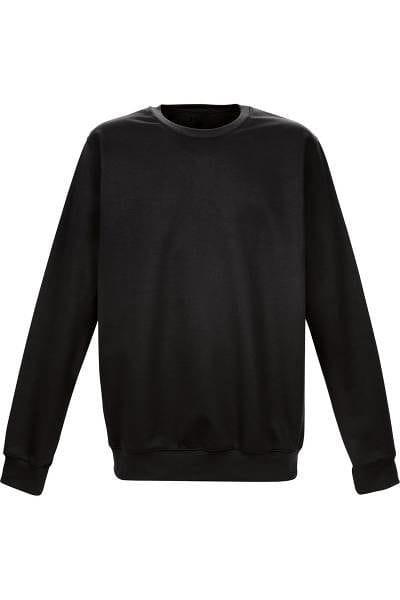 TRIGEMA Strick - Sweatshirt - schwarz