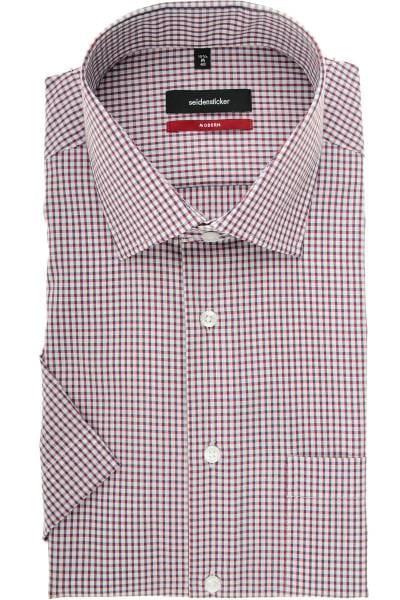 Seidensticker Modern Fit Hemd rot, Gestreift