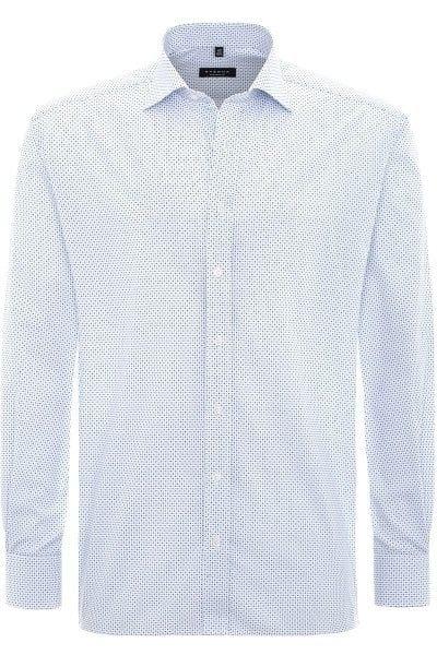 Eterna Hemd - Comfort Fit - blau, Gemustert