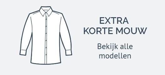 Extra Korte Mouw Overhemden