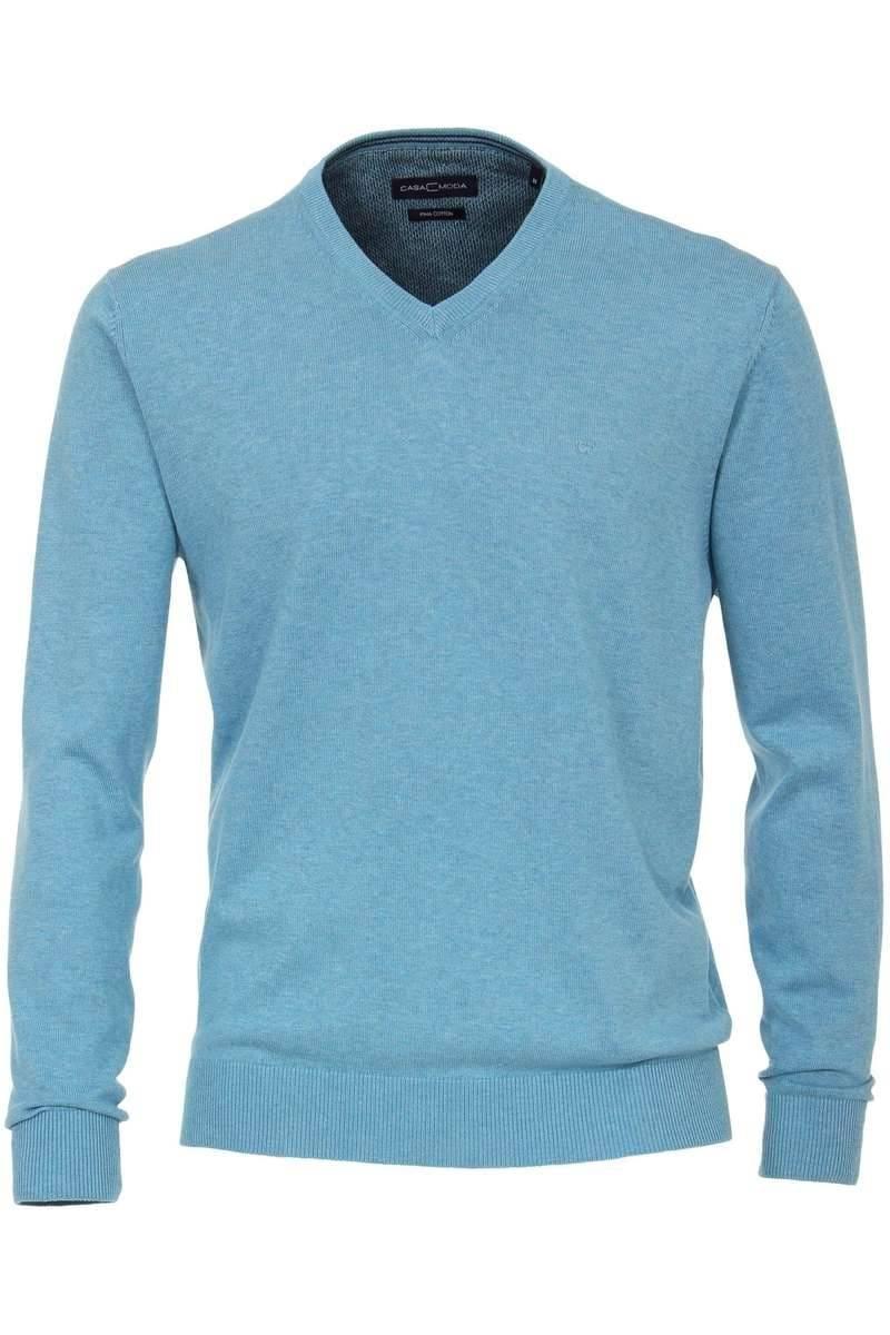 neue Season kaufen wie man kauft Casa Moda Pullover V-Ausschnitt türkis
