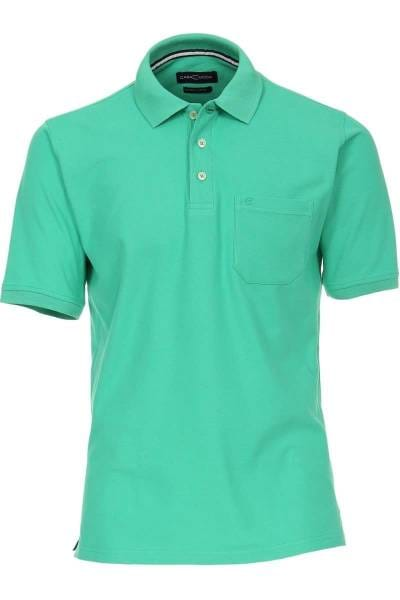 Casa Moda Poloshirt grün, Einfarbig