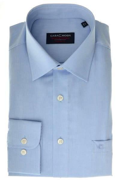 Casa Moda Comfort Fit Hemd hellblau, Einfarbig