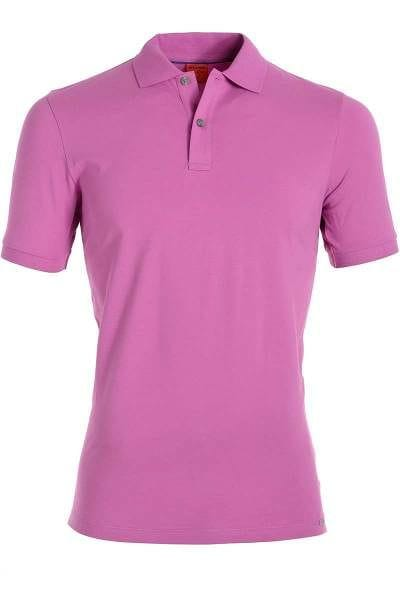 Olymp Level Five Body Fit Poloshirt alt rosa, Einfarbig