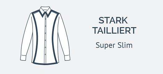 Super Slim ETERNA Hemden mit extra langem Arm