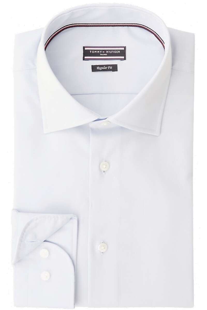Tommy Hilfiger Tailored Slim Fit Hemd hellblau, Einfarbig 40 - M