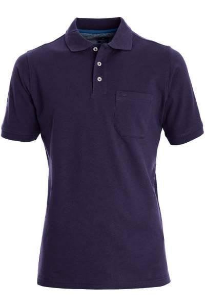 Redmond Casual Poloshirt lila, Einfarbig