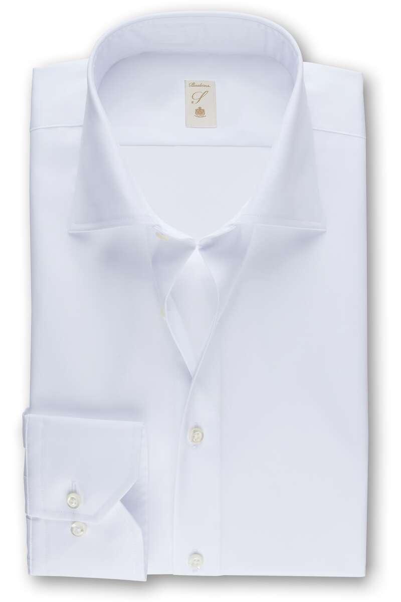 Stenströms Fitted Body Hemd weiss, Einfarbig 40 - M