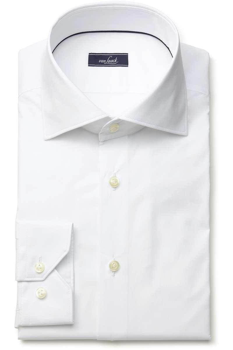 van Laack Tailor Fit Hemd weiss, Einfarbig 43 - XL