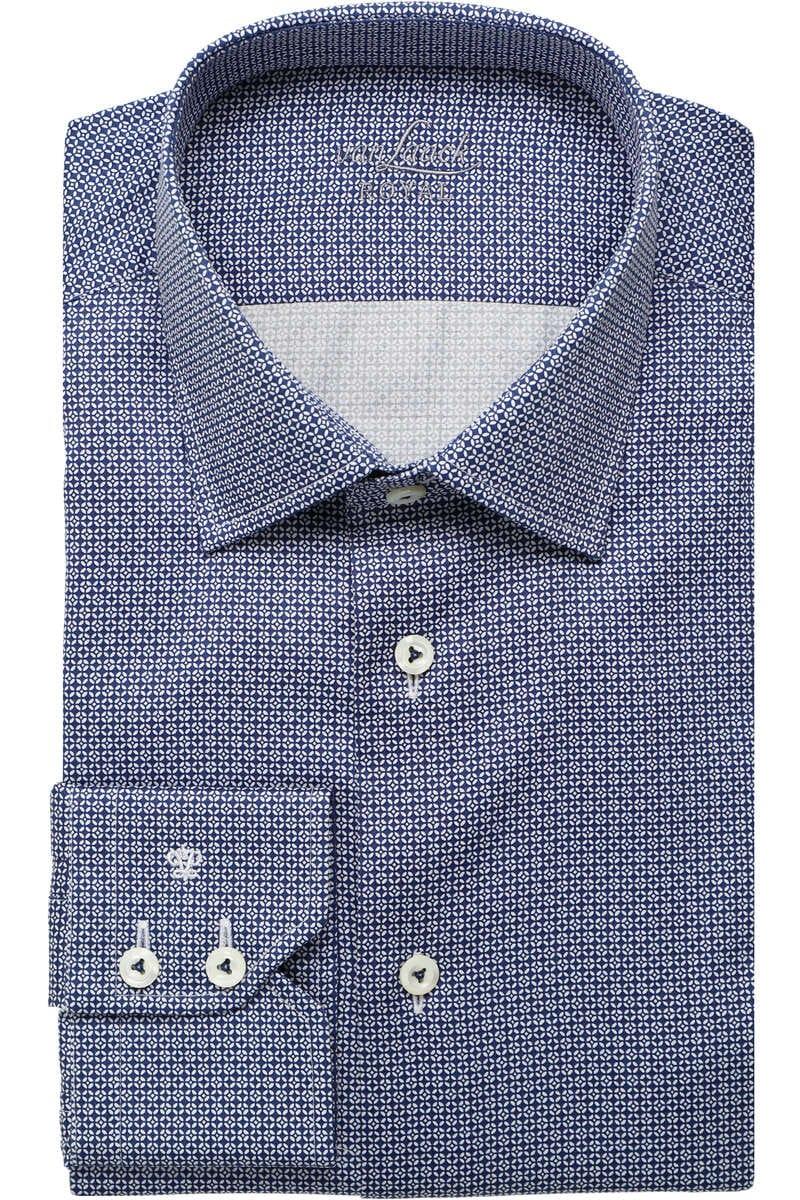Van Laack Tailor Fit Hemd royal, Gemustert 43 - XL