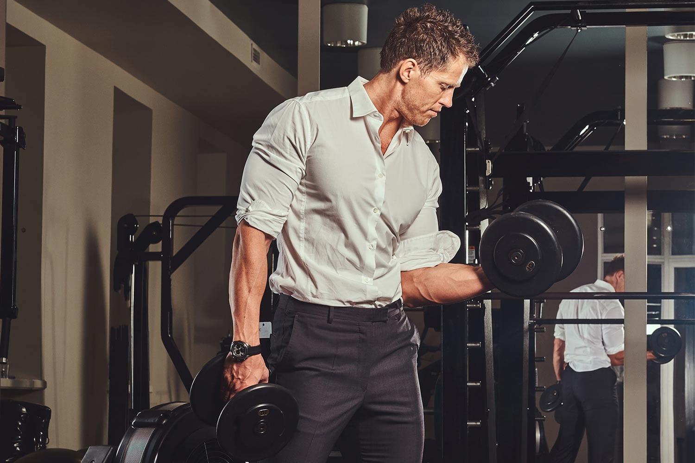Hemden für muskulöse Männer und Bodybuilder Emotion
