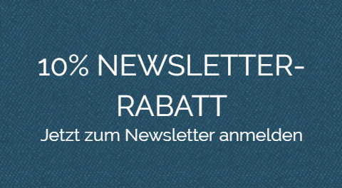 Newsletter-Rabatt 10%