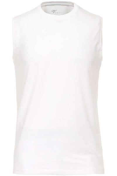 Venti Slim Fit T-Shirt weiss, Einfarbig