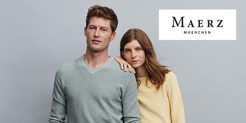 MAERZ V-Ausschnitt Pullover