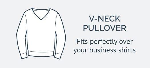 Business sweater V-Neck