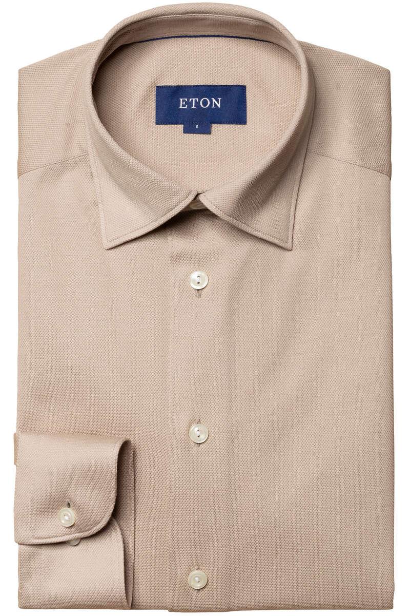 ETON Contemporary Fit Poloshirt hellbraun, Einfarbig M