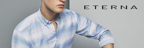 ETERNA Hemden mit extra langem Arm Mood
