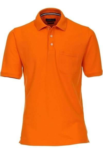 Casa Moda Poloshirt orange, Einfarbig