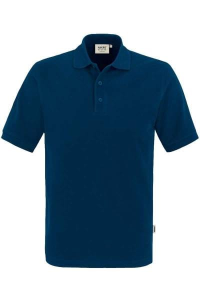 HAKRO Regular Fit Poloshirt marine, Einfarbig