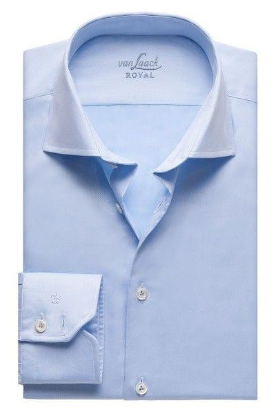 van Laack Hemd - Tailor Fit - hellblau, Einfarbig
