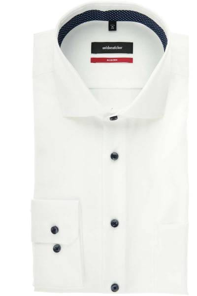 Seidensticker Modern Fit Hemd weiss, Einfarbig