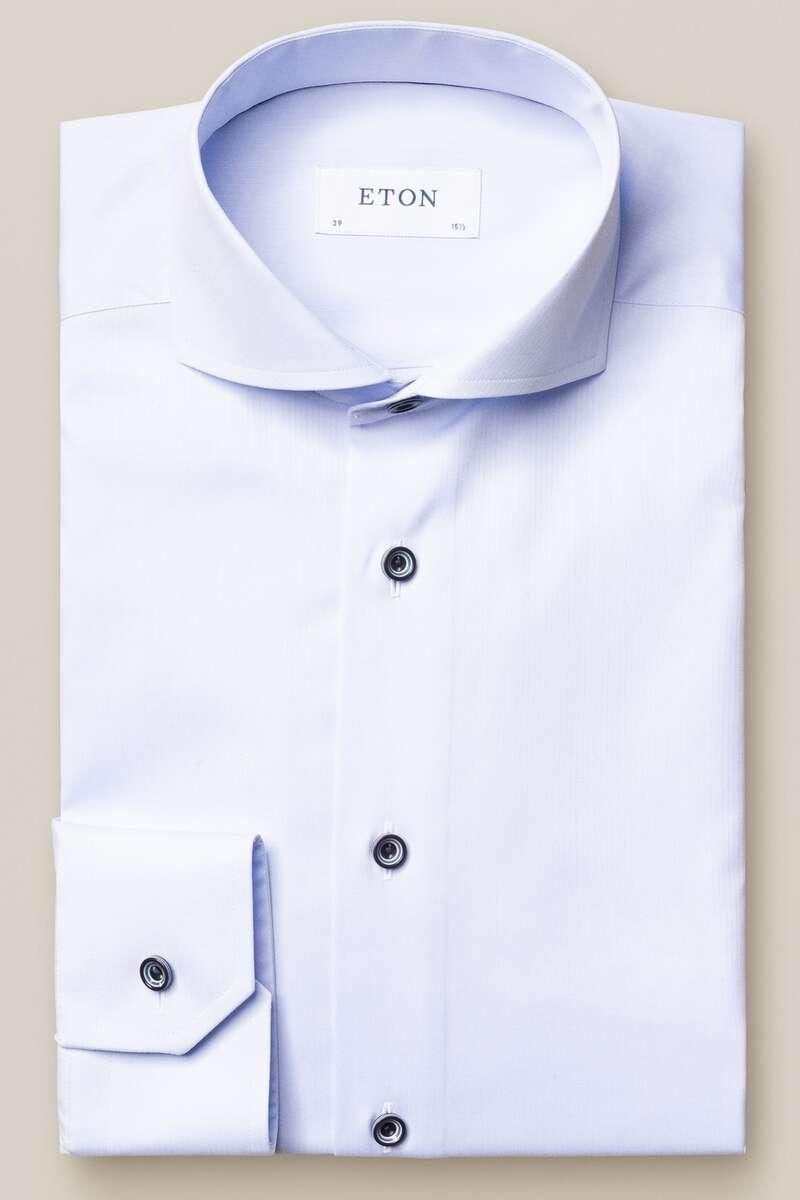 ETON Slim Fit Hemd blau, Einfarbig 43 - XL
