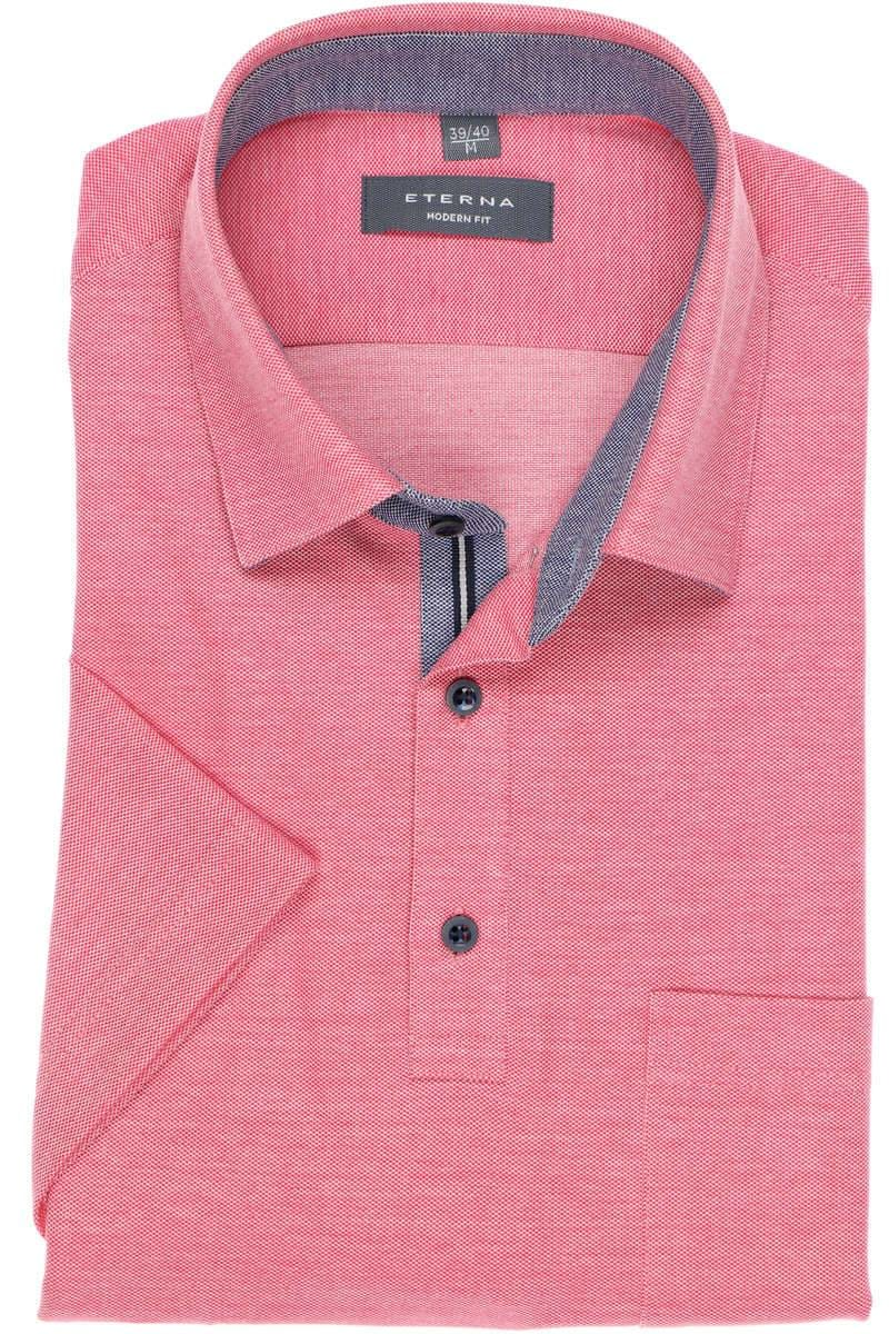 ETERNA Modern Fit Poloshirt pink, Einfarbig