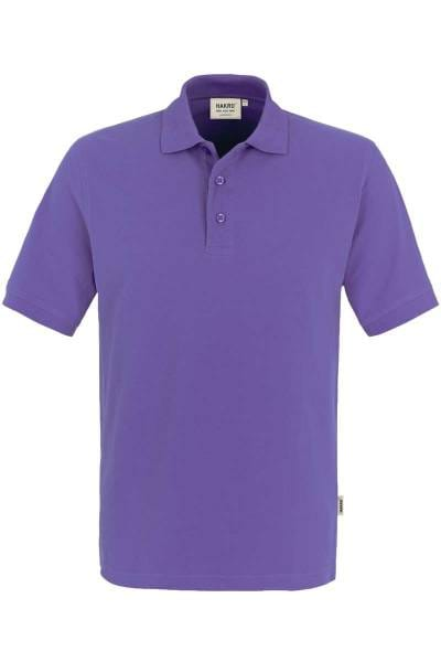HAKRO Regular Fit Poloshirt lavendel, Einfarbig