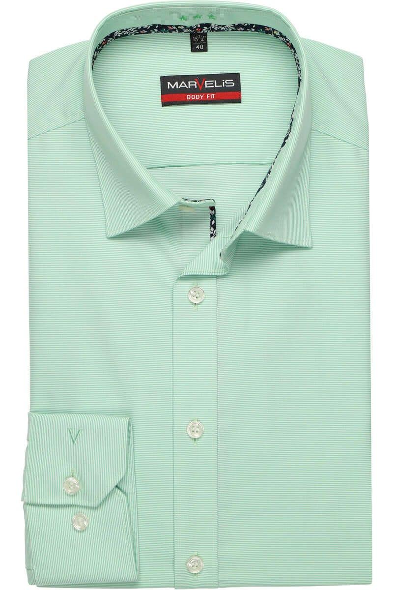 Marvelis body fit Hemd Gr 40 versch Farben Neu mit Etikett