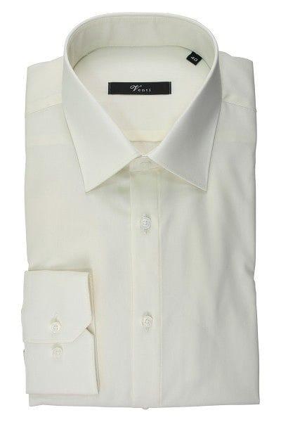Venti Hemd - Slim Fit - beige, Einfarbig