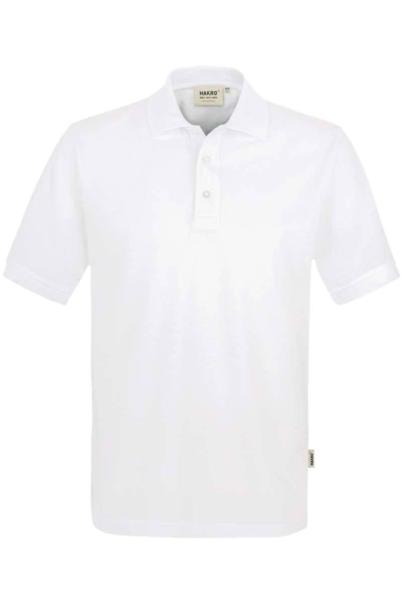 HAKRO Comfort Fit Poloshirt weiss, Einfarbig