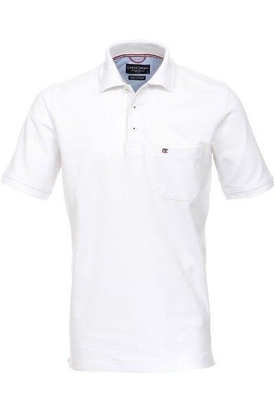 Casa Moda Poloshirt - Polo - weiss, Einfarbig