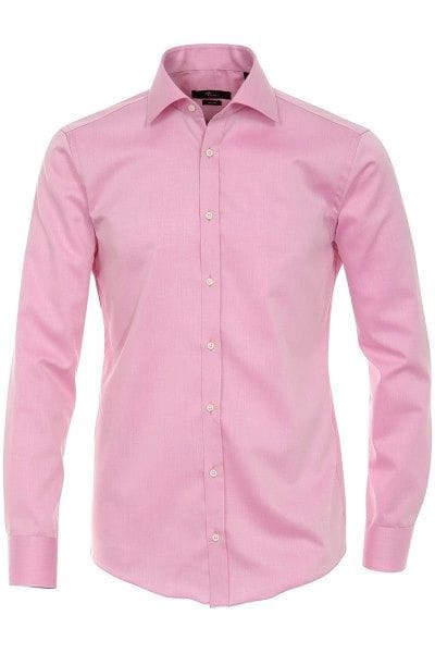 Venti Hemd - Slim Fit - hellrose, Einfarbig