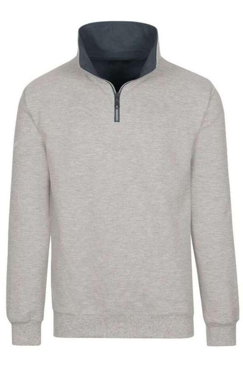 TRIGEMA Comfort Fit Sweatshirt grau, melange M