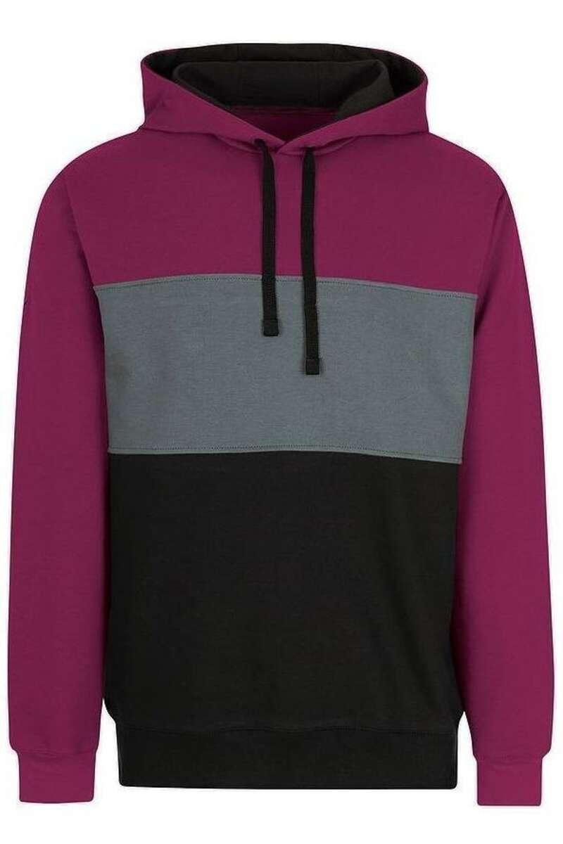 TRIGEMA Kapuzen Sweatshirt sangria, einfarbig M
